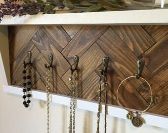 key rack, key, organizer, key hooks, jewelry organizer, jewelry display, shelf, entryway organizer, wall organizer