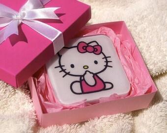 Natural Hand Made Hello Kitty Soap