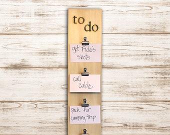 To Do Board  |  Chore Board  |  Homework Organizer  |  Busy Board  |  Memo Board  |  Rustic Memo Board | Bulletin Board | To Do List Planner