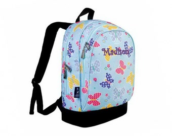 Personalized Classic Butterfly Garden Backpack