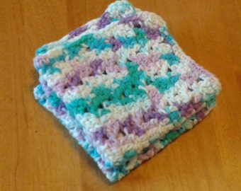 Crocheted Dish Cloths,set of two