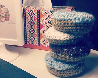 Crochet Donut (Ornament/Toy)
