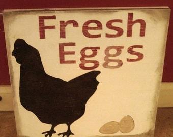 Plain Kitchen Chicken Decor Coop Sign Fresh Eggs With Decorating Ideas