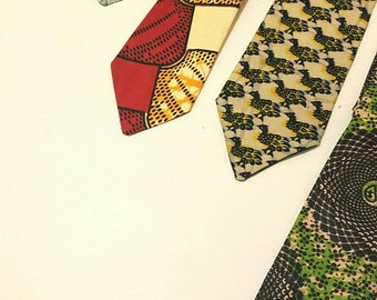 DamiV. ankara tie and pocket square