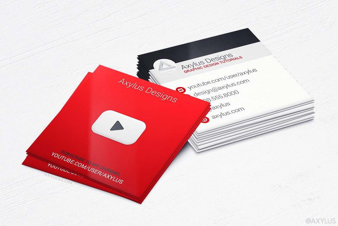 Youtube business cards social media design and printing zoom magicingreecefo Image collections