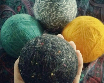 Large dryer balls. Set of 4.