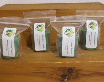 Mountain Trailside Scented Soy Votive Candles