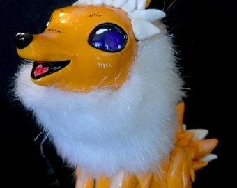 OOAK - Jolteon Peblet Art Doll