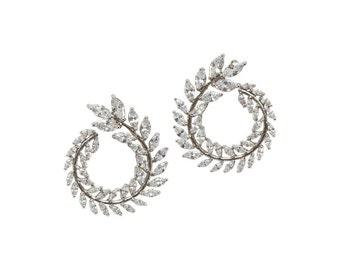 Lara Heems Laurel Wreath Earrings