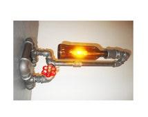 articles uniques correspondant lampe de tuyaux de plomberie etsy. Black Bedroom Furniture Sets. Home Design Ideas