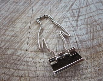 Penguin Clip ~2 pieces #100646