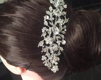 Wedding Hair Comb, Bridal Comb, Bridal Rhinestone Comb, Crystal Vintage Comb, Swarovski Comb, Bridal Crystal Comb, Bridal Hair Comb