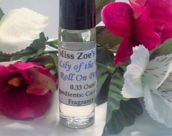 Natural Lily Of The Valley Roll On, Womens Perfume, Fragrance Oil, Vegan Perfume, Feminine Perfume, Roll On Fragrance, Roll On Perfume Oil