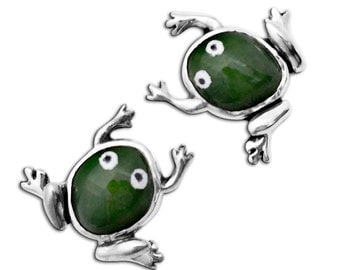 Frog earrings