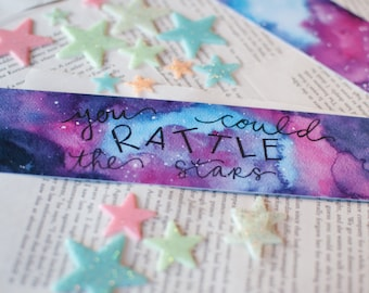 Throne of glass Bookmark // You Could Rattle The Stars