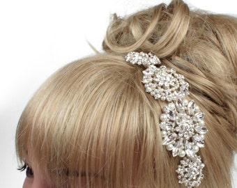 Wedding Side Tiara, Vintage Sideband, Bridal Headdress, Wedding Tiaras, Bridal Tiaras