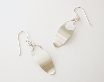 Delicate Twist Earrings, Fun Lightweight Earrings