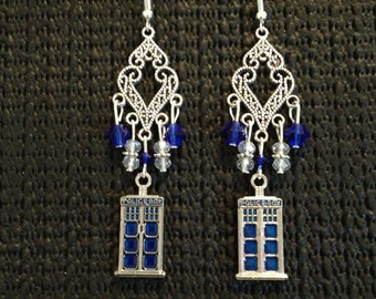 Dr.Who drop earrings