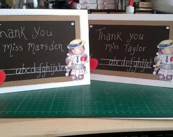 Teacher Card - Thank You