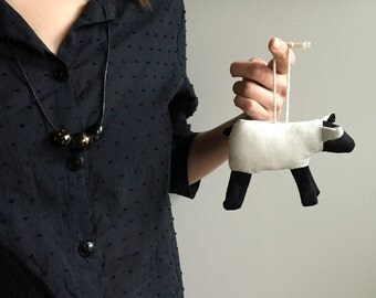 Handmade Sheep Ornament for charity