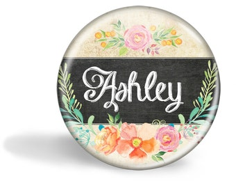Personalized Pocket Mirror, Bridesmaid Gift, Pocket Mirror, Mirror for Purse, Gift for Her, Gift for Friend