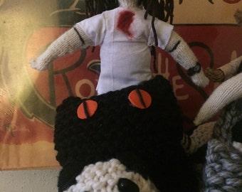Andrew WK Art doll/Amigurumi