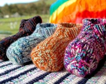 Unisex Knitted Slippers | Knitted socks | Wool Slippers | Kids Women Men