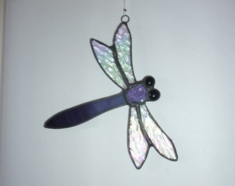 Stained Glass   Dragonfly suncatcher とんぼ