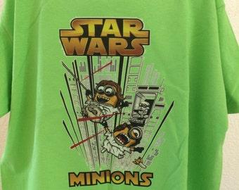 Children's Minion Star Wars Tshirt