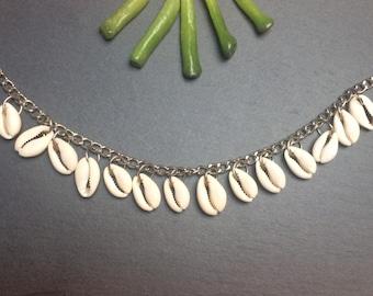 Anklet bracelet, Woman Barefoot Sandals, SHELLS Bracelet, Foot shells bracelet,ankle bracelet,boho ankle bracelet, summer bracelet,