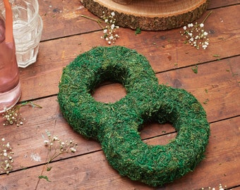 Moss Number - Moss Table Number - Rustic Wedding Table Numbers - Woodland Wedding - Table Numbers - Real Moss Numbers - Rustic Table Numbers