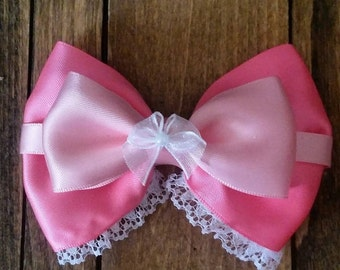 Cinderella (Pink Dress) Inspired Bow