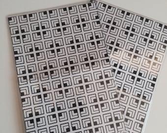 Drawings square symmetric Passport cover