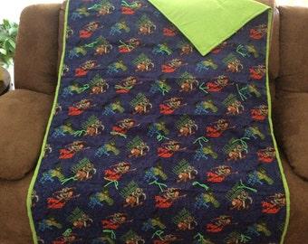 Buzz Lightyear blanket