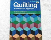 Quilting Patchwork & Applique A Sunset Book Vintage Soft Cover