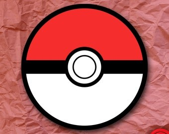 Pokemon Poké Ball Sticker