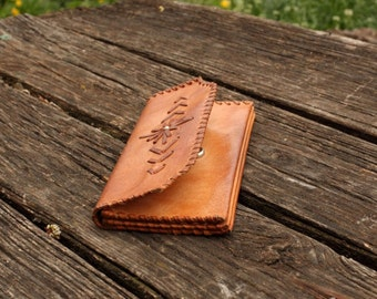 Vintage Leather Women Wallet