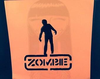 Zombie Stencil 2