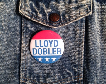 LLOYD DOBLER For President Pinback Button Pin Badge X1 2.25 Inch Handmade New John Cusack Say Anything Movie Movement Pinback Buttons