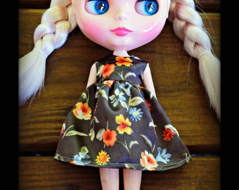 Silk Flower Blythe Dress