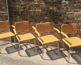 Set of 4 Cesca Style Dining Chairs