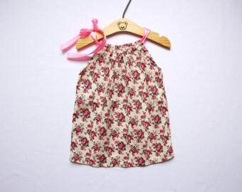Girls Pillowcase Dress Floral Cotton Dress Toddler Dress Girls Dresses Summer Dress Baby Girl Dresses Baby Dress Birthday Gift for Girls