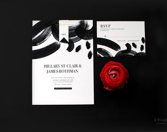 Custom Wedding Invitation Design – Sample only