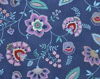 Beautiful fabric flreuris cotton 112x25cm
