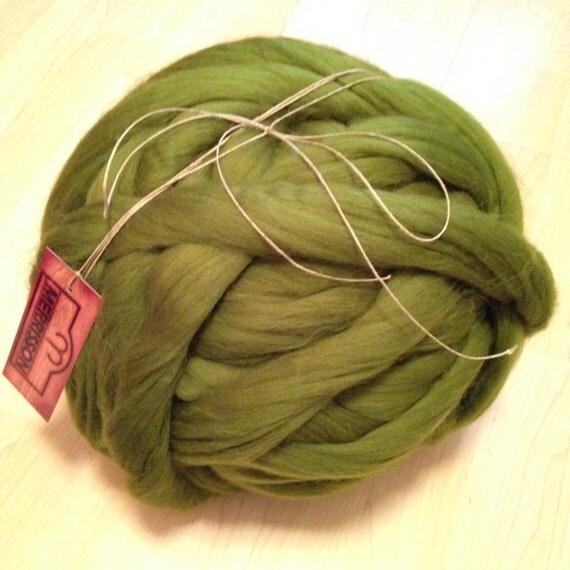 Wool super bulky yarns diy arm knitting merino wool big knit stitch