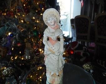 GERMANY BISQUE GIRL Figurine