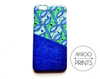 AFROOPRINTS. African Wax XV print iPhone case