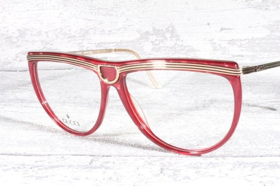 Vintage Gucci Glasses Frame : Gucci GG 2303 vintage eyeglasses frames / cat eye by ...