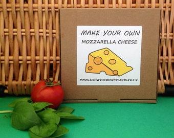 Make Your Own Homemade Mozzarella Cheese Kit - Mini Cheese Making Kit