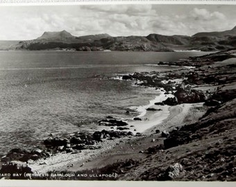 Real Photograph Postcard .Scotland. Gruinard Bay between Gairloch and Ullapool